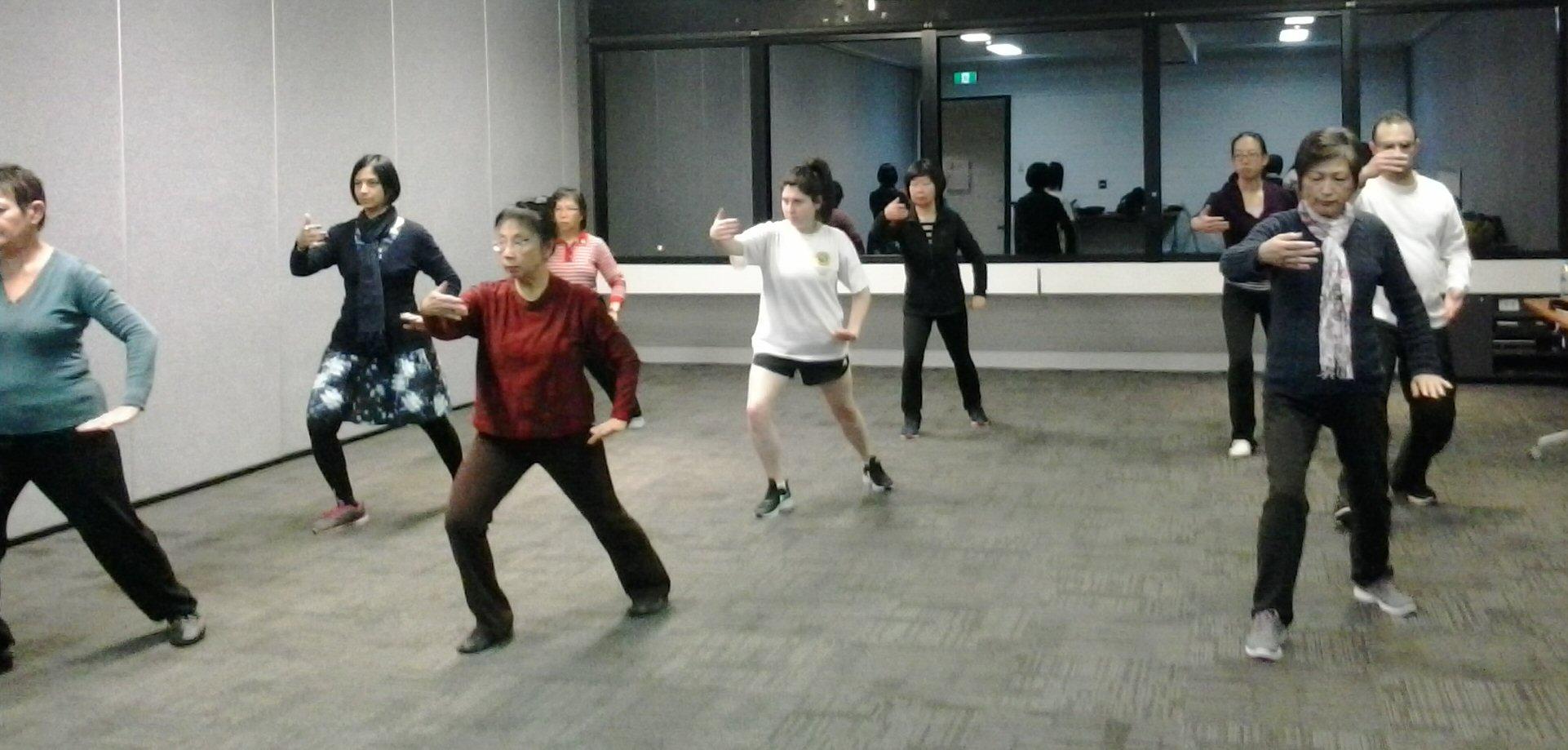 Tai Chi Classes at Macquarie University